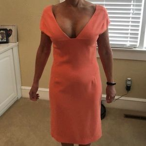 Rachel Roy Peach Dress